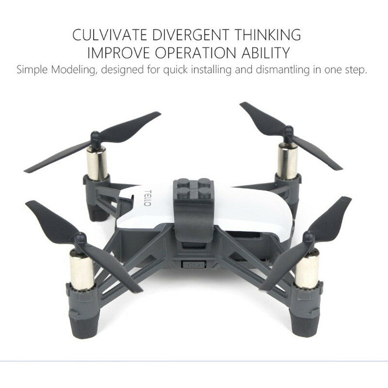 PGY Model Building Blocks TELLO Adapter RYZE Quadcopter ABS for DJI Lego Toy❤