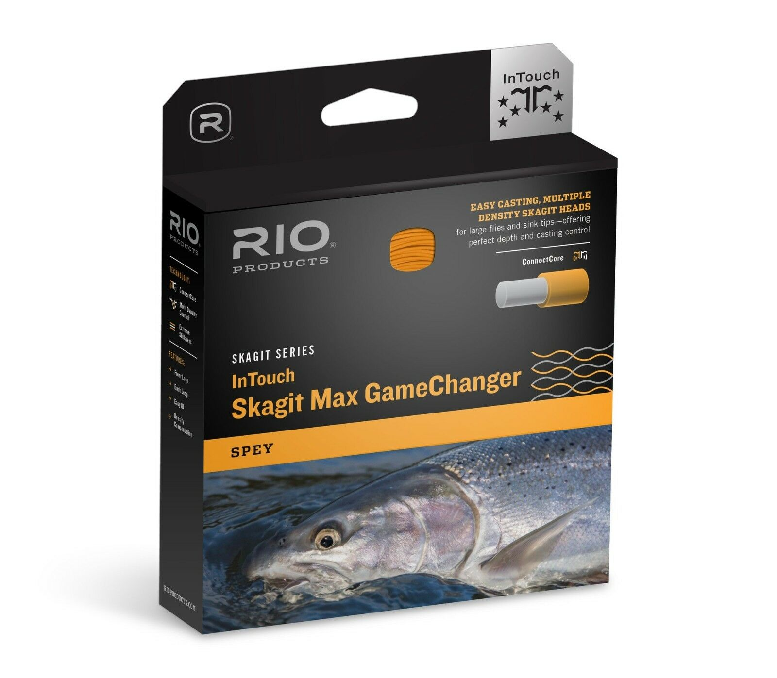 NEW RIO SKAGIT MAX GAMECHANGER 525-GR  8 WT F H I S3 SPEY ROD SHOOTING HEAD