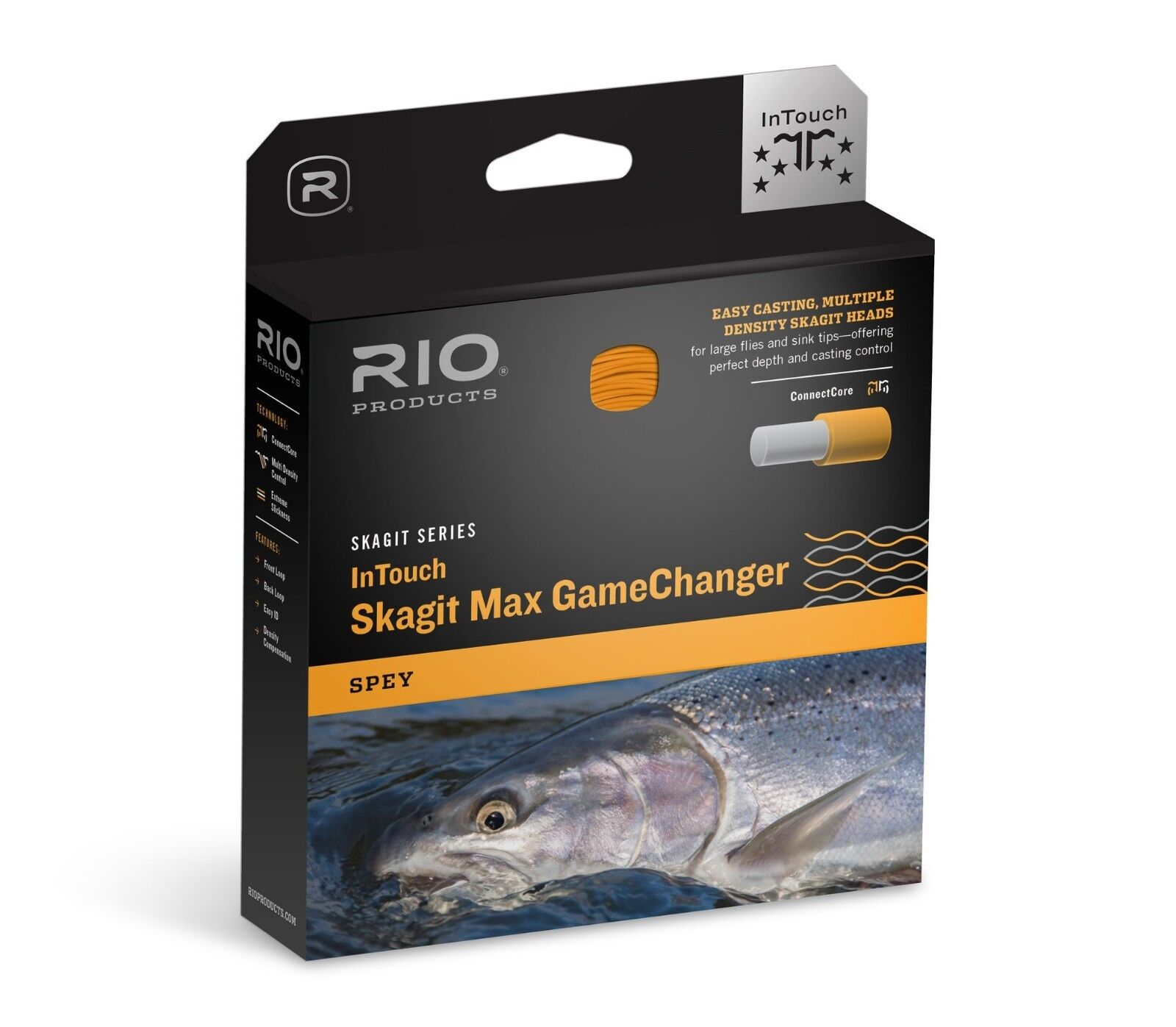 NEW RIO SKAGIT MAX GAMECHANGER 550-GR WT F H I S3 SPEY ROD SHOOTING HEAD