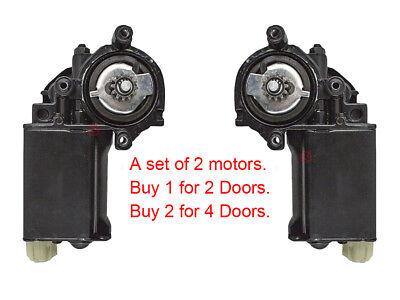 Power Window Regulators with Motors Set of 4 for Buick Oldsmobile