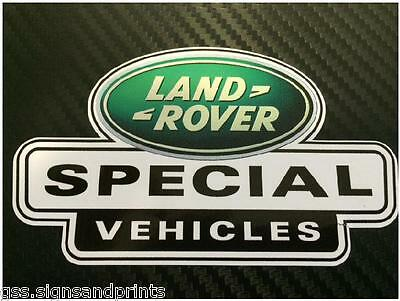 X3 GREEN LAND ROVER DEFENDER DISCOVERY SPECIAL VEHICLES DECAL STICKER 90 110