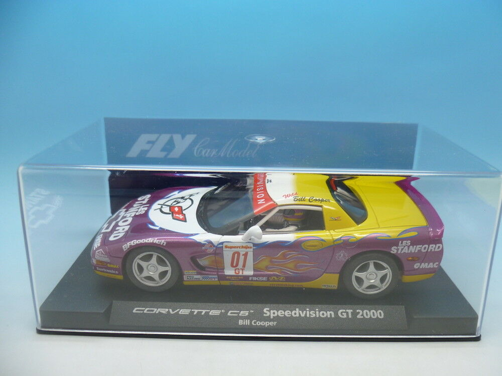 Fly 88099 Corvette C5 Speedvision GT 2000 Bill Cooper, mint unused
