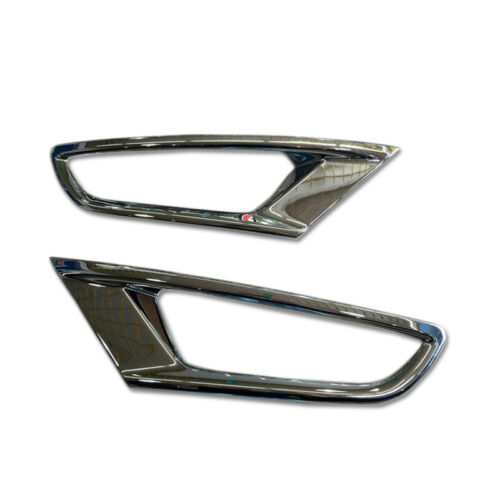 ABS Chrome Rear Fog Light Lamp Cover Trim 2pcs For Mazda CX-3 2015-2018