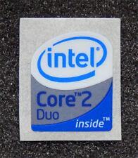 Intel Core 2 Duo Inside Sticker 16 x 19.5mm Case Badge Logo For Laptop