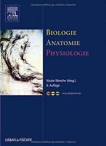 Biologie-Anatomie-Physiologie-Kompaktes-Lehrbuch-fuer-Pf-Buch-Zustand-gut
