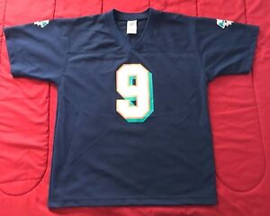 innovative design 2b010 6a971 Details about Miami Dolphins NFL Jay Fiedler #9 Jersey - Youth LG (14-16)  Blue Navy
