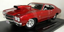 Nex models 1/18 Scale 1970 Chevrolet Chevelle Pro Street red diecast model car