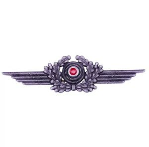 German-Luftwaffe-Cockade-and-Wreath-Cap-Air-force-hat-emblem-Badge-Pin-Replica