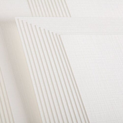 Create /& Craft CREAM WHITE LINEN CARD 10 Sheets A4 300gsm QUALITY CARDSTOCK