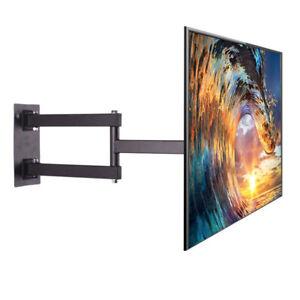 """Swivel Articulating Tilt TV Wall Mount Bracket for 26-55"""" LED, LCD, OLED, 4K TVs"""