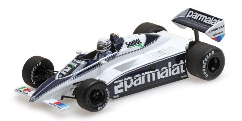 Brabham Bmw Bt50 Riccardo Patrese 1982 F1 Formula 1 1 43 Model MINICHAMPS