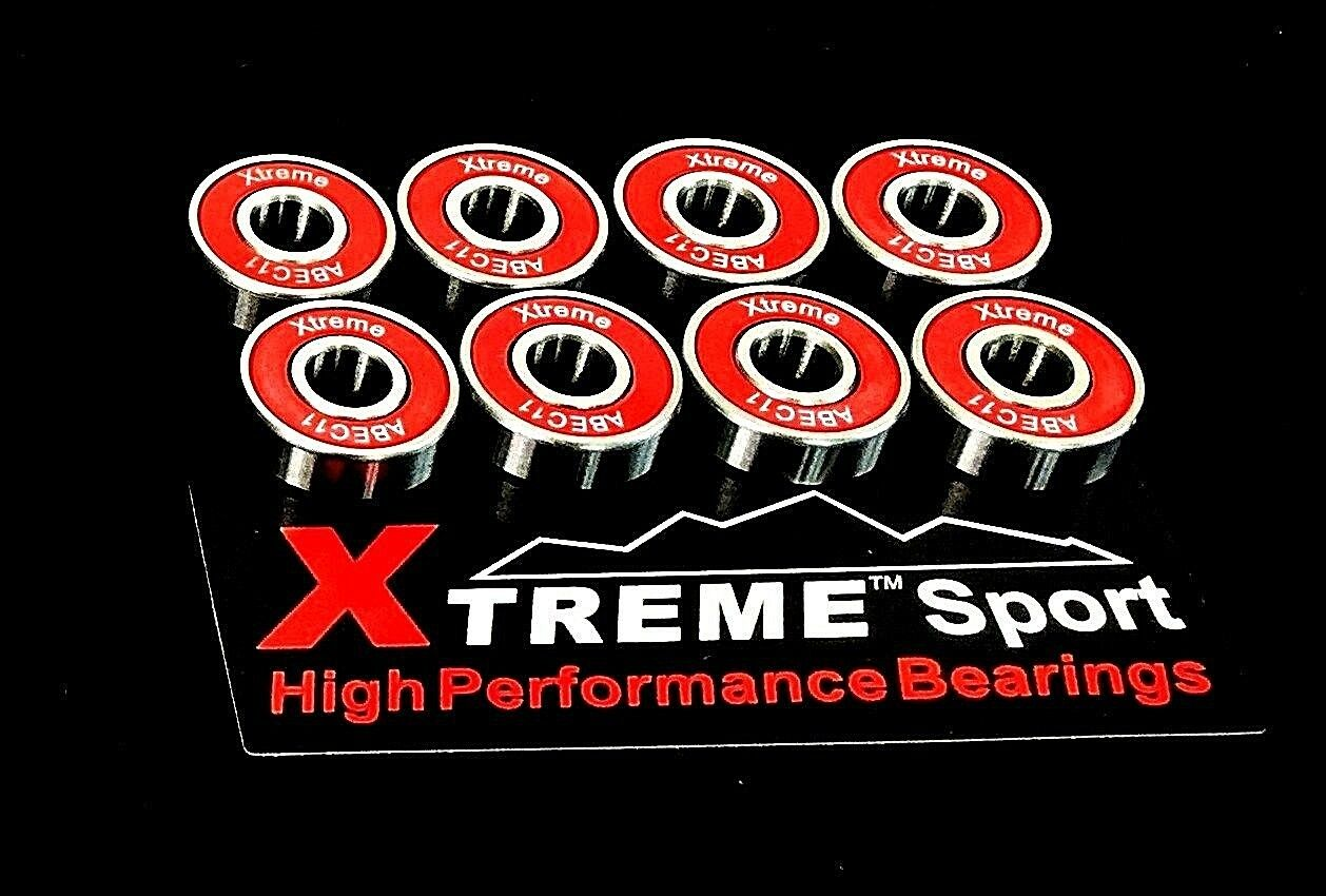 Xtreme ABEC 11 608 RS SWISS PREMIUM HYBRID CERAMIC BEARINGS SKATEBOARD SCOOTER