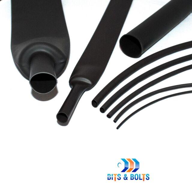 50.8mm 2:1 Various Colours Heatshrink Tubing Tube Sleeving Heat Shrink 1.6mm