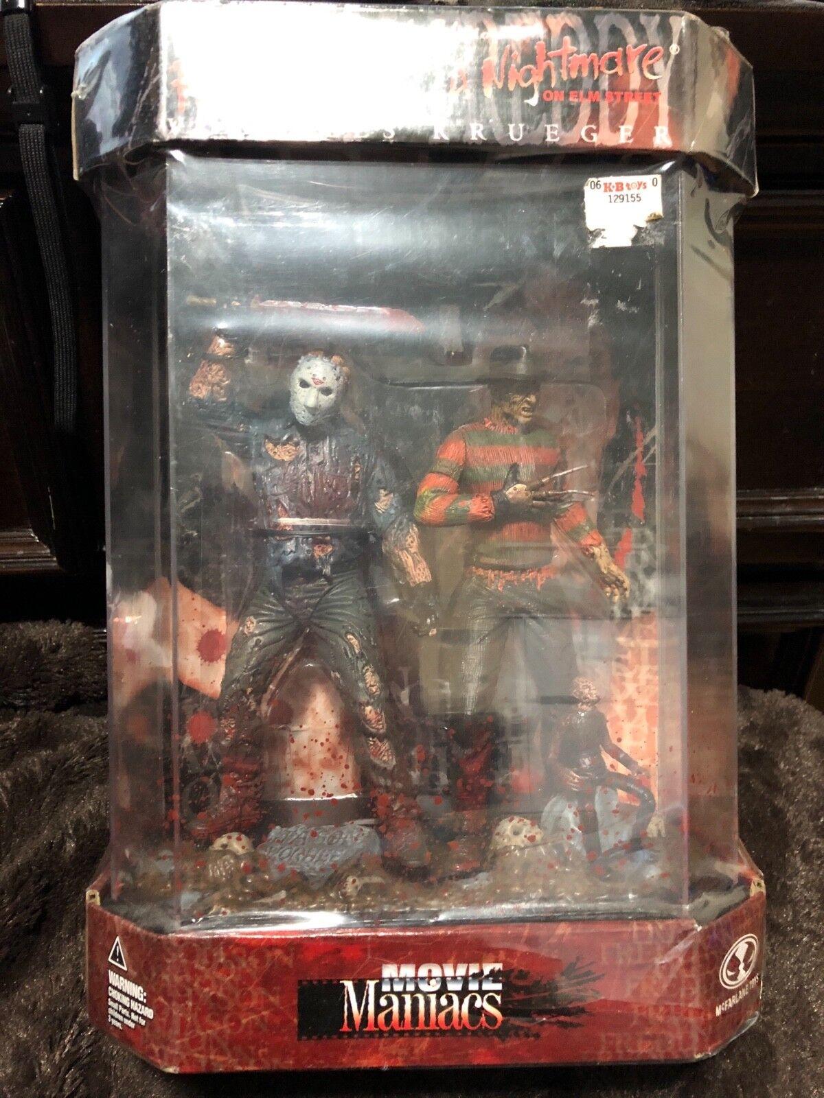Jason voorhees mcfarlane spielzeug film maniacs und frotdy krueger horror - zahlen.