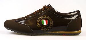 Bogga-Shoes-Sneaker-Gr-42-und-43-in-braun-und-weiss-blau-bordeauxrot-NEU-OVP