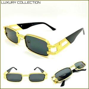 Men/'s UPSCALE LUXURY Contemporary Modern Style SUNGLASSES Gold /& Tortoise Frame