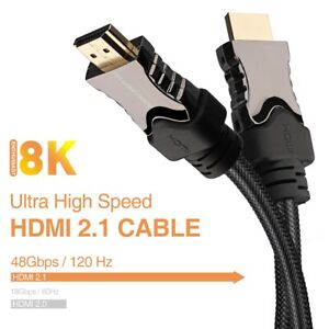 HDMI-2-1-Cable-CL3-Certified-SuperSpeed-48Gbps-8K-120Hz-HDR-HDCP-2-2-US-Lot