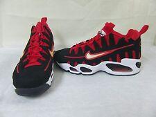 New! Mens Nike Shoes Air Max NM Style 429749-006 Size 9.5 BlackRedWhite 29D