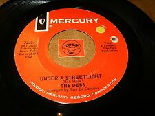THE DEBS - UNDER A STREETLIGHT - SLOOPY'S GONNA    / LISTEN - GIRL GROUP POPCORN