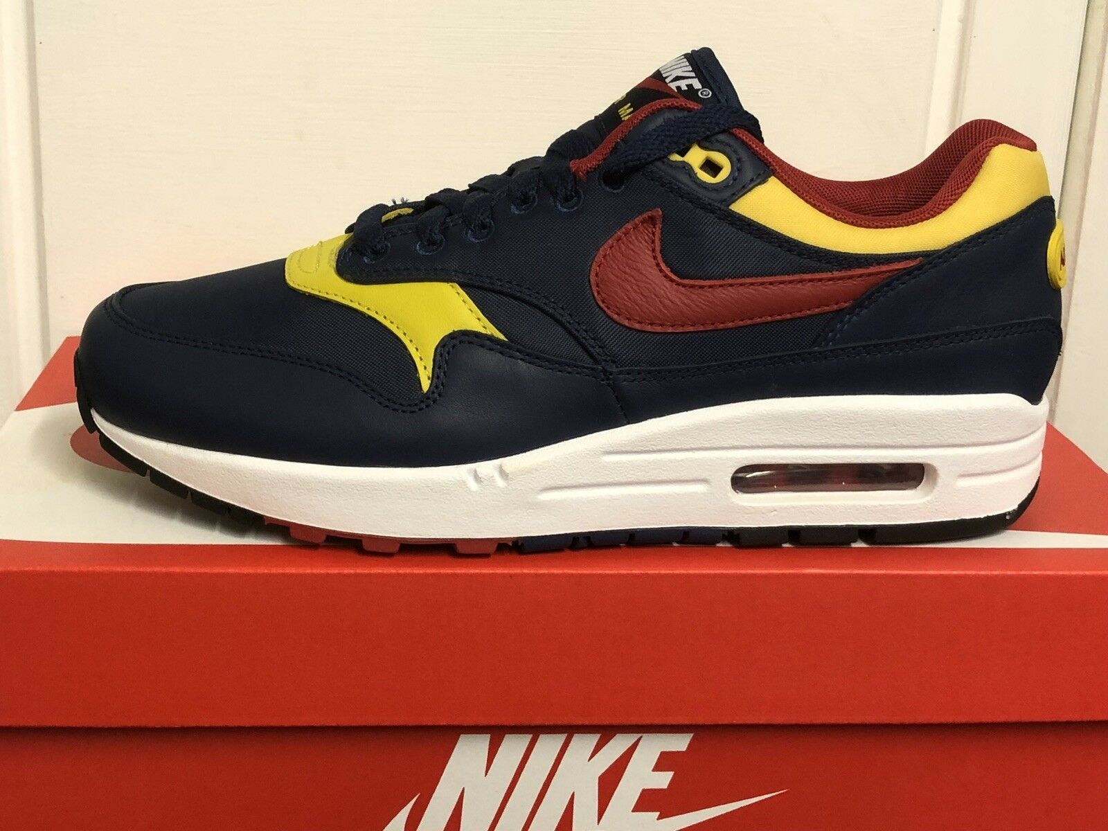 NIKE AIR MAX 1 PREMIUM homme  TRAINERS SNEAKERS chaussures6 EUR 40