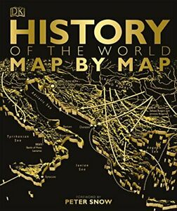 History of the World Map by Map (Historical Atlas) by DK Book The Fast Free