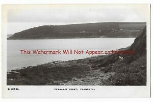 Cornwall-Falmouth-Pennance-Point-Real-Photo-Vintage-Postcard-2-8