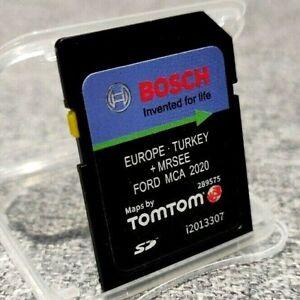 Ford Mca 7 2020 V10 Latest Navigation Sd Card Sat Nav Map Uk And Europe Ebay