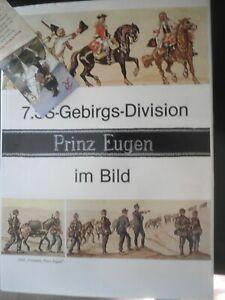 """7.XX Gebirgsdivison """"Prinz Eugen im bild Munin verlag Waffen XX"""