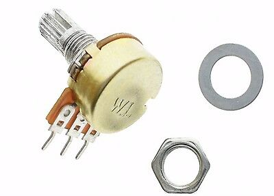 10PCS WH148 B20K Linear Potentiometer 15mm Shaft With Nuts And Washers