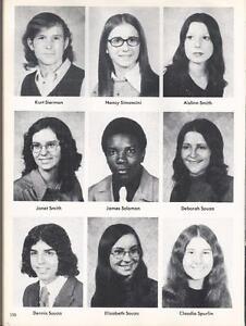 1973 stonington high school yearbook the pawmystonian pawcatuck