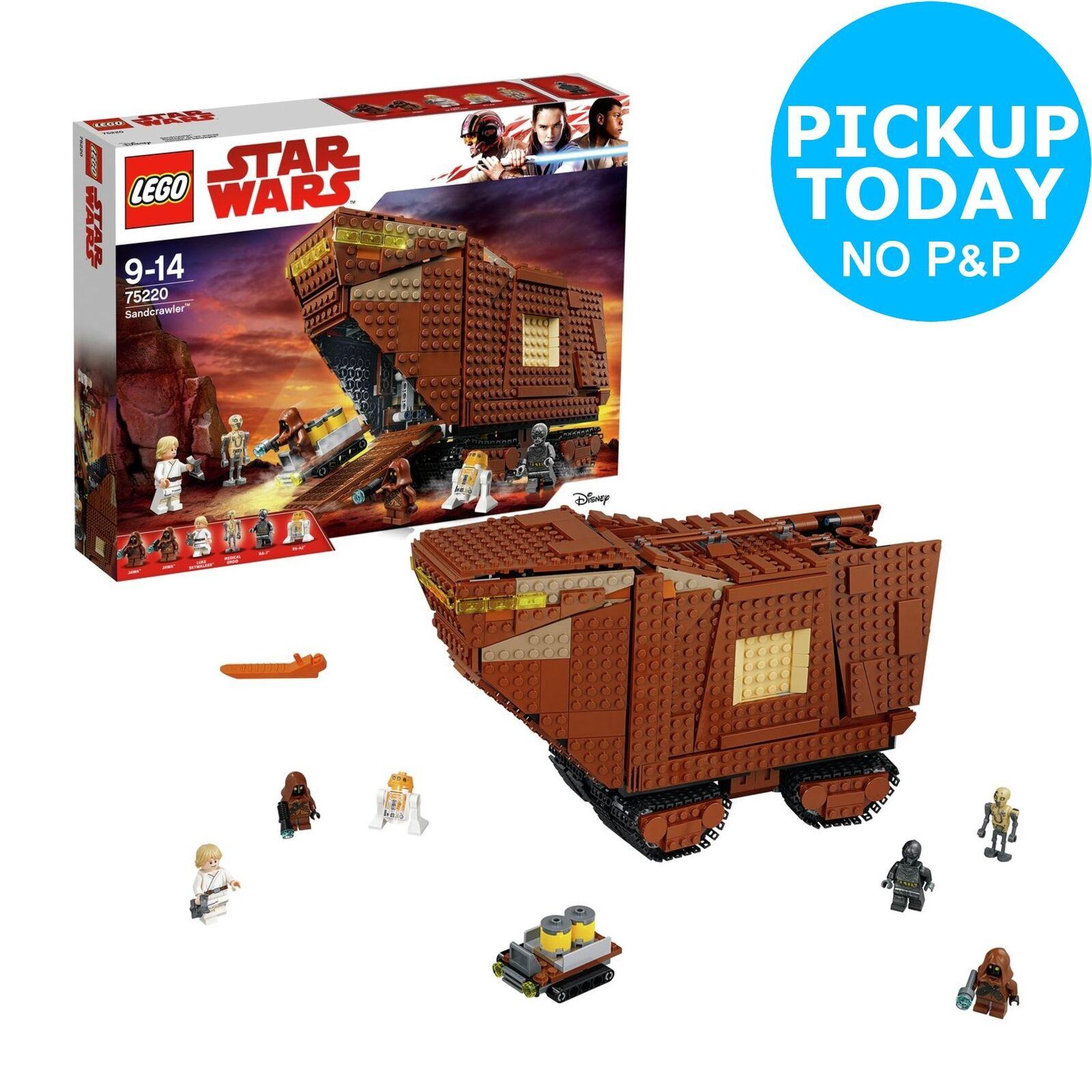 LEGO Star Wars Sandcrawler 4 Mini Figures Playset - 75220 - 10+ Years