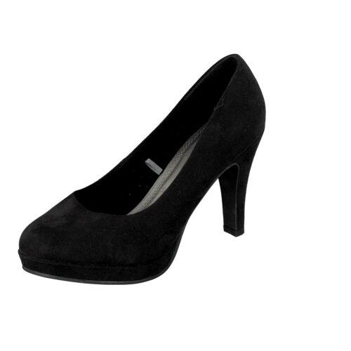 Jane Klain Damen Schuhe Pumps High Heel Silvester Party 224 708 Lack Schwarz NEU