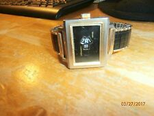 DYNASTY 70'S SWISS DIRECT READ JUMP HOUR WATCH    NON WORKING     FOR PARTS ONLY