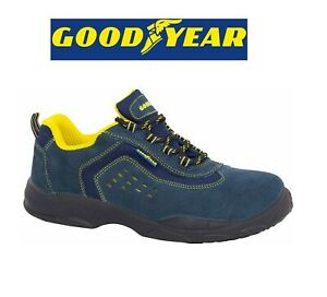 Zapatillas de Seguridad Altas S1P Mod G138842 Talla 41 Azul Trabajo