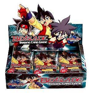 BEYBLADE COLLISION TCG BOX 30 Trading Card Game Booster Packs BOX IS SEALED