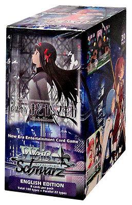 English Weiss Schwarz Puella Magi Madoka Magica Rebellion Booster Box SEALED!!^