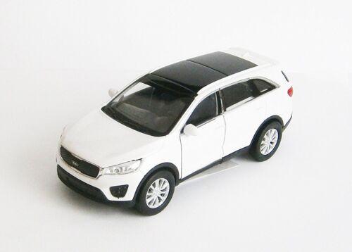 KIA SORENTO Modellauto Metall Modell Auto Spielzeugauto PKW 3-Farben WELLY 40
