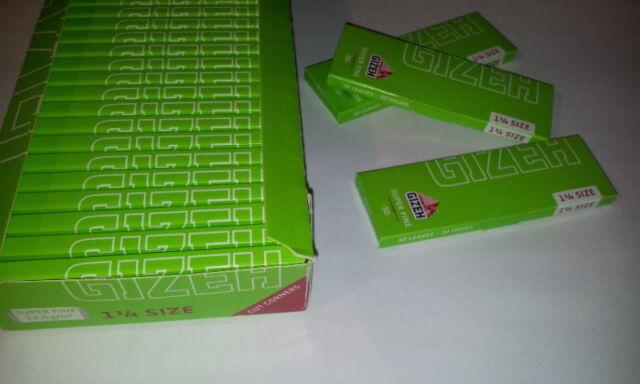 Lote 9 libritos papel de fumar Gizeh 12gr/m 1 1/4 50 hojas