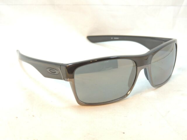 c3a0d28ac61 Oakley Twoface 9189 01 Black Iridium Polarized Polished Black Sunglasses   702