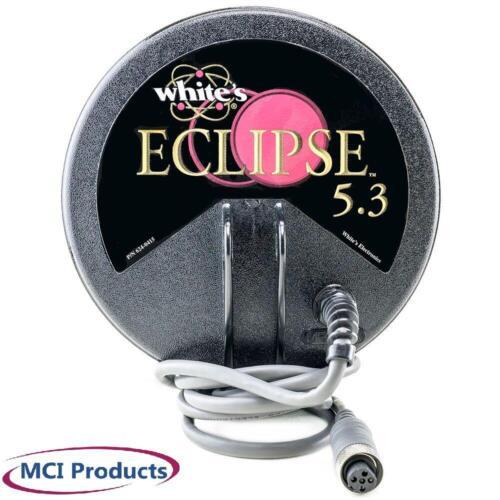 Whites Eclipse 5.3 6x6 Search Coil w// Cover 801-3240