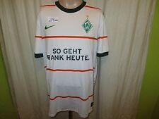 "Werder Bremen Original Nike Trikot 2009/10 ""SO GEHT BANK HEUTE"" Gr.XXL TOP"
