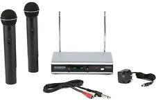 Audio Master Wireless Vocal Karaoke  Microphone System amw1114