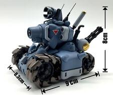 1/35 Metal Slug models Tank Action Mini Tank Plastic Model Kit  Blue