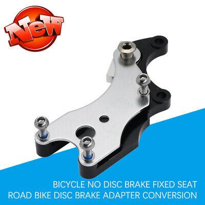 Bicycle No Disc Brake Fixed Seat Road Bike Disc Brake Adapter Conversion