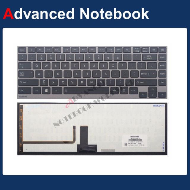 Toshiba US English Backlit Keyboard for Portege Z830 Z835 Z930 Z935  P000552600