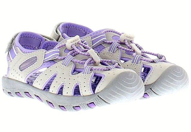 Khombu Kids Athletic Girls Purple Grey