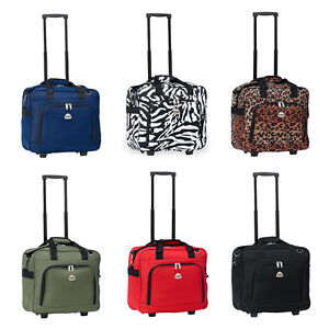 Details About Rolling Carry On Light Weight Duffle Tote Bag Luggage Suitcase Wheels Gym