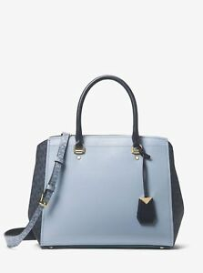 16835017e5e3b Image is loading Authentic-NWT-Original-MICHAEL-Kors-Benning-Large-Satchel-