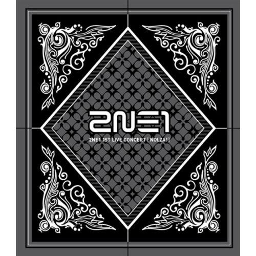 2NE1-NOLZA-1st-LIVE-CONCERT-CD-Photo-Booklet-YG-Family-Card-K-POP-Sealed