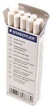 10 x STAEDTLER MARS PLASTIC RUBBER ERASER HOLDER REFILLS 528 55